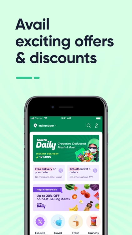 Dunzo: Grocery Delivery App screenshot-4