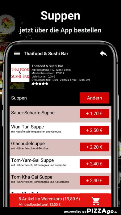Thaifood & Sushi Bar Berlin screenshot 5
