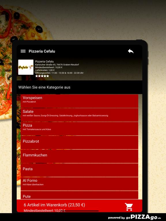 Pizzeria Cefalu Graben-Neudorf screenshot 8