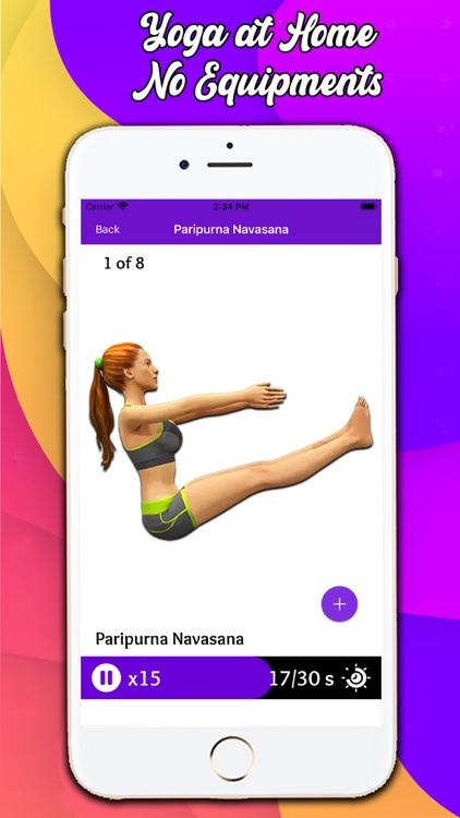 Weight Loss Yoga Exercise screenshot-6