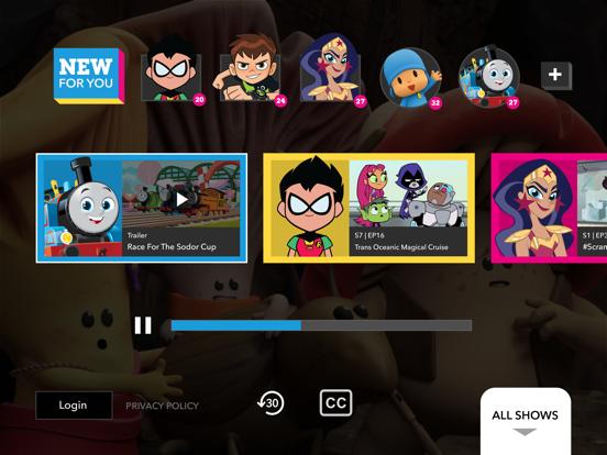 Cartoon Network tablet App screenshot 2