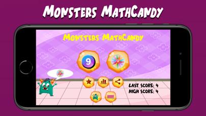 Monsters MathCandy screenshot 1