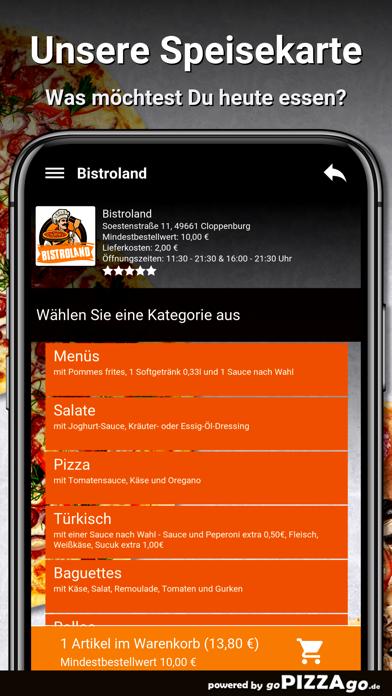 Bistroland Cloppenburg screenshot 4