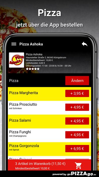 Pizza Ashoka Königsbrunn screenshot 5