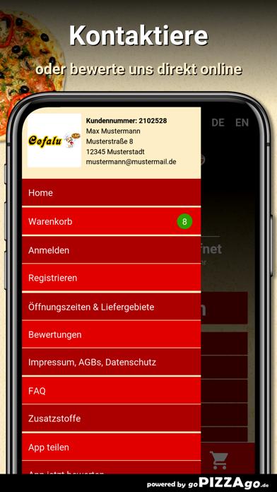 Pizzeria Cefalu Graben-Neudorf screenshot 3