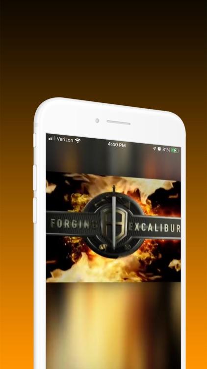 Forging Excalibur screenshot-4