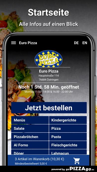 Euro Pizza Östringen screenshot 2