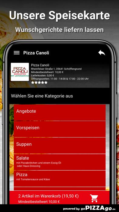 Pizza Canoli Schöffengrund screenshot 4