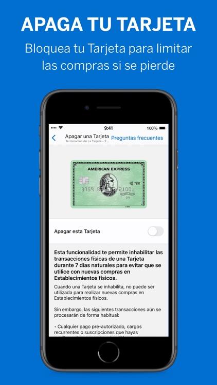 Amex México screenshot-5