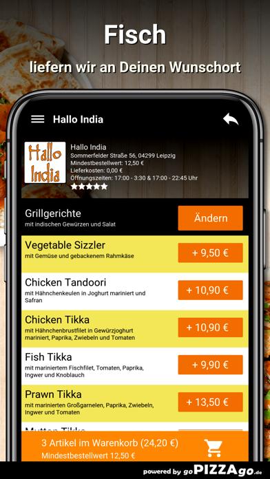 Hallo India Leipzig screenshot 6