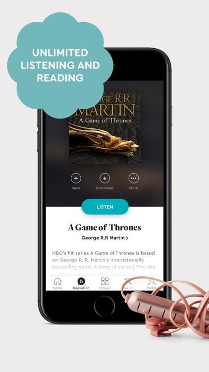 BookBeat Audiobooks & E-books screenshot-4