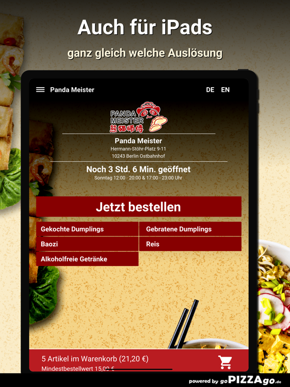 Panda Meister Berlin Ostbahnho screenshot 7