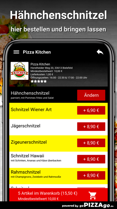 Pizza Kitchen Bielefeld screenshot 6