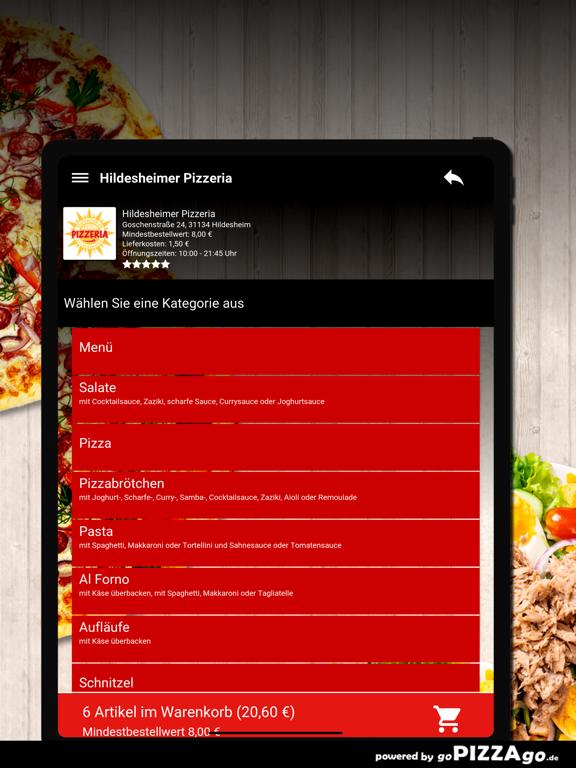 Hildesheimer Pizzeria Hildeshe screenshot 8