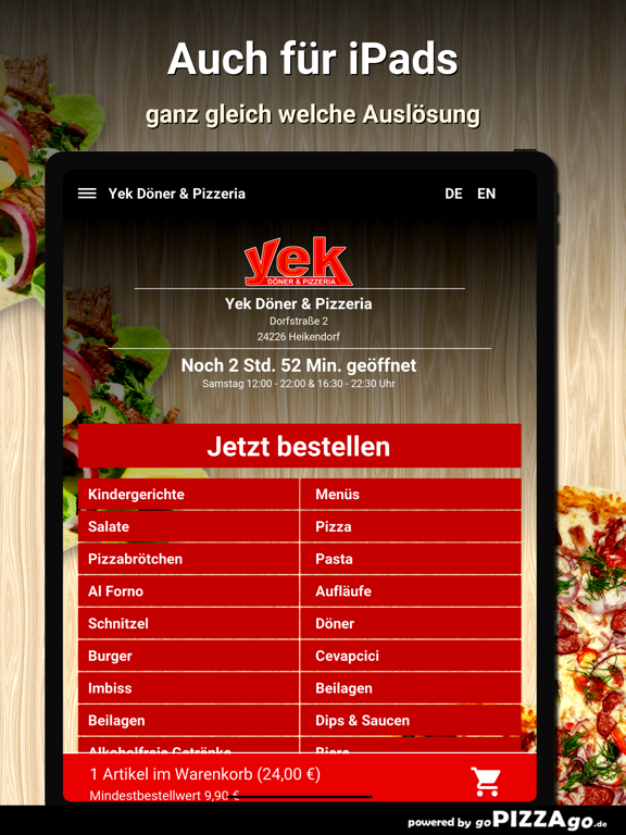 Yek Döner Heikendorf screenshot 7