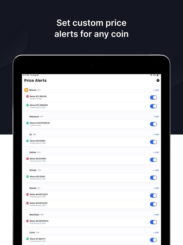 CoinMarketCap: Crypto Prices az App Store-ban