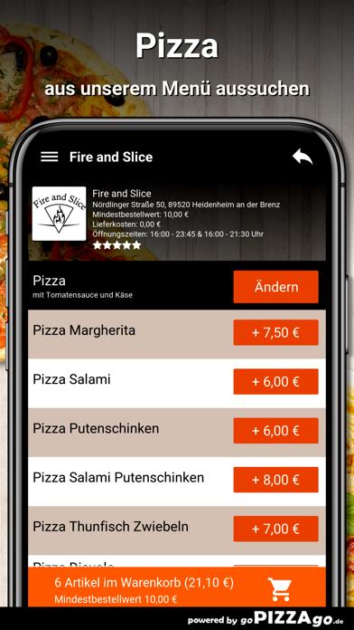 Fire and Slice Heidenheim screenshot 5