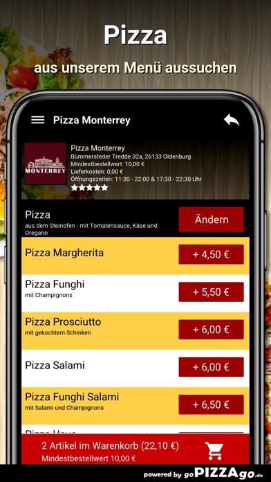 Pizza Monterrey Oldenburg screenshot 5