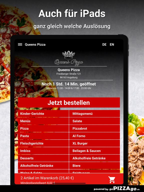 Queens Pizza Augsburg screenshot 7