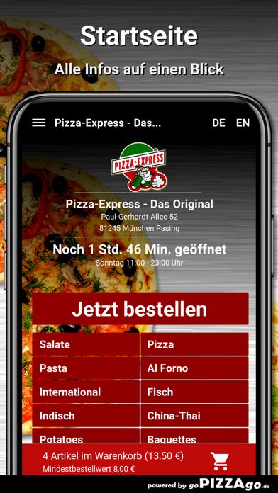 Pizza-Express München Pasing screenshot 2