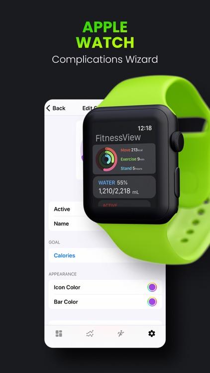 FitnessView ∙ Activity Tracker screenshot-5