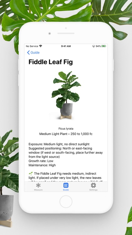 Plant Light Meter screenshot-4
