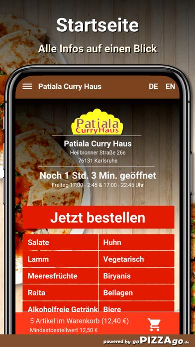 Patiala Curry Haus Karlsruhe screenshot 3