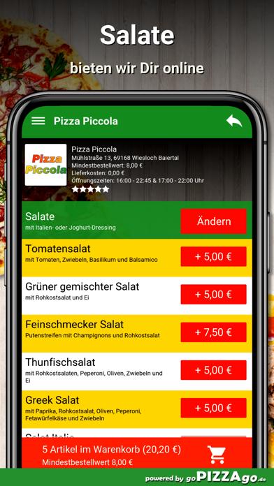 Piccola Wiesloch Baiertal screenshot 5