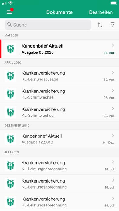 HanseMerkur RechnungsAppScreenshot von 4