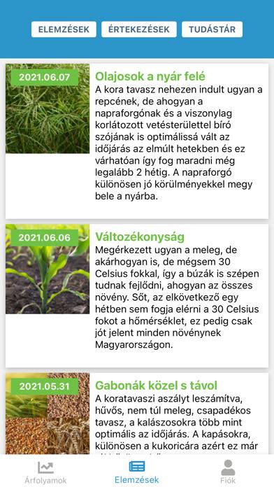 Screenshot of Agrimarket App