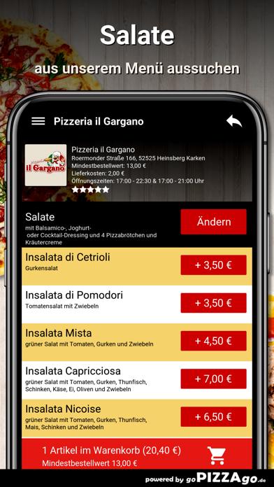 Pizzeria il Gargano Heinsberg screenshot 5