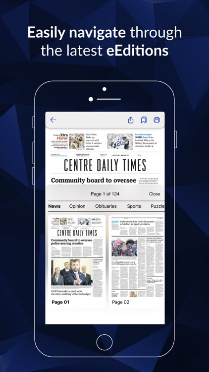 The Centre Daily Times News