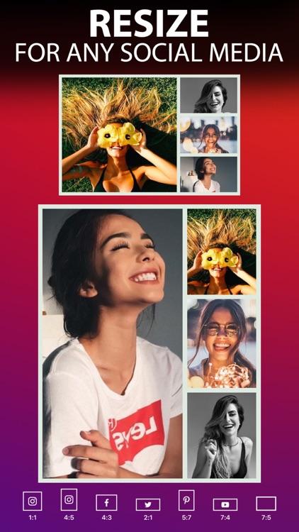 Photo Collage Maker : Pic Grid screenshot-4
