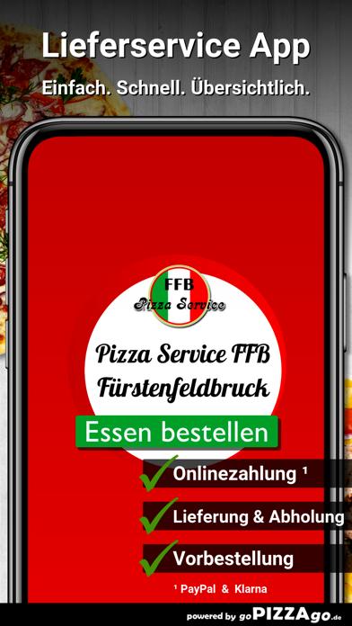 Pizza Service FFB Fürstenfeldb screenshot 1