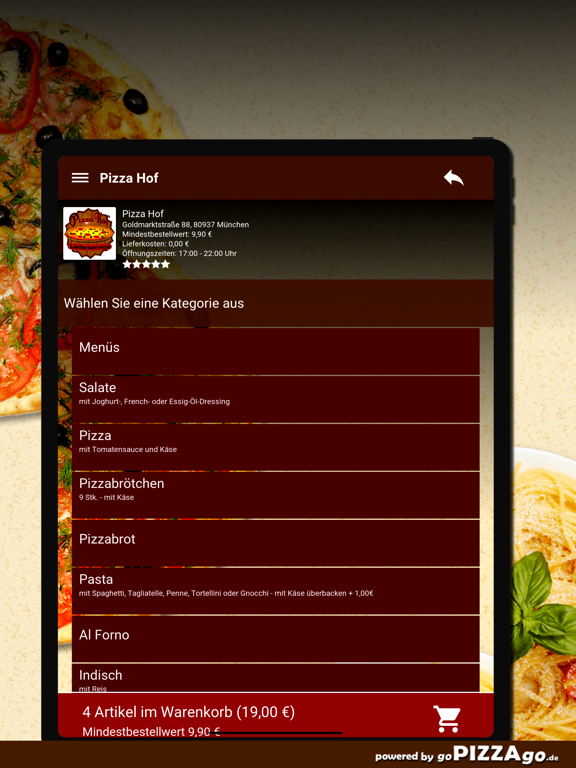 Pizza Hof München screenshot 8