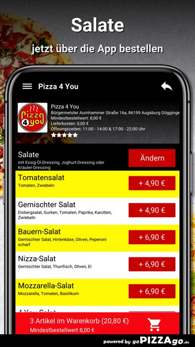 Pizza 4 You Augsburg screenshot 5