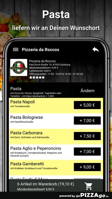 Pizzeria da Roccos Duisburg screenshot 6