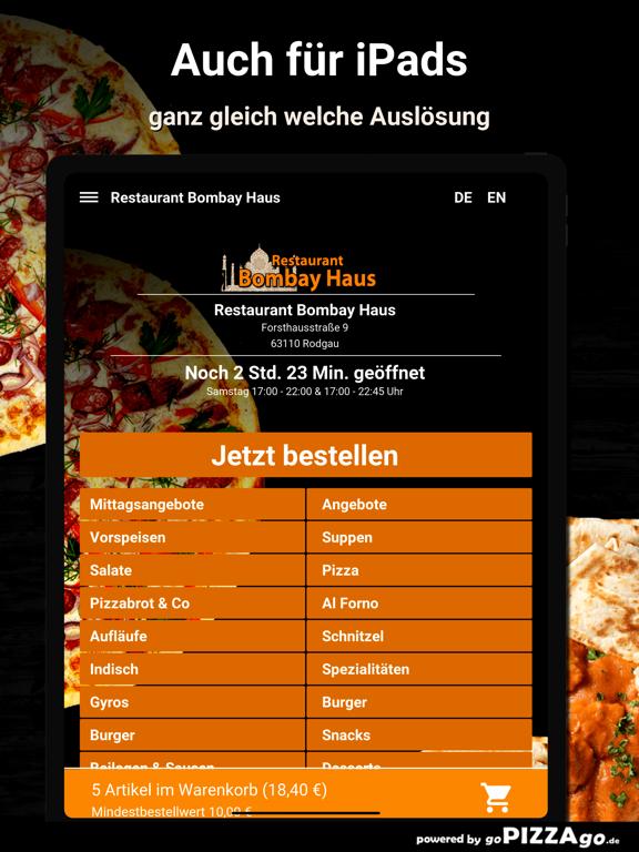 Restaurant Bombay Haus Rodgau screenshot 7