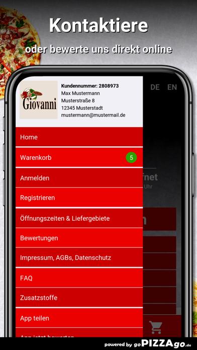 Pizzeria Giovanni Berlin screenshot 3