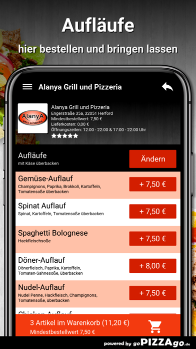 Alanya-Grill Herford screenshot 1