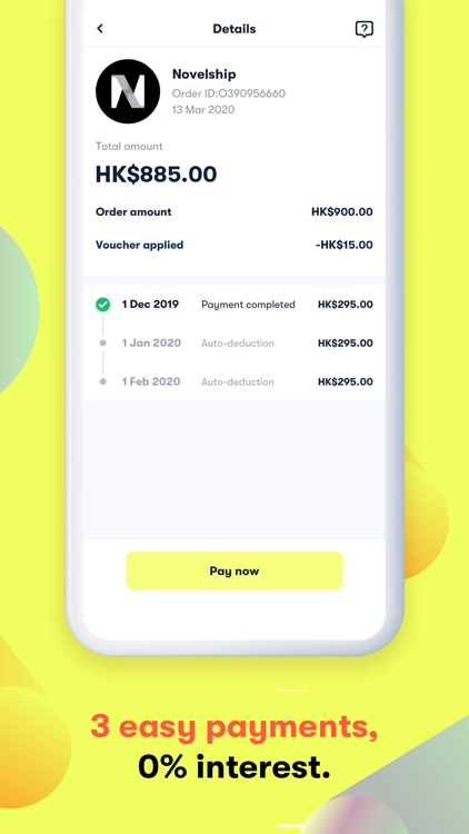 atome HK - Buy now. Pay later screenshot-4