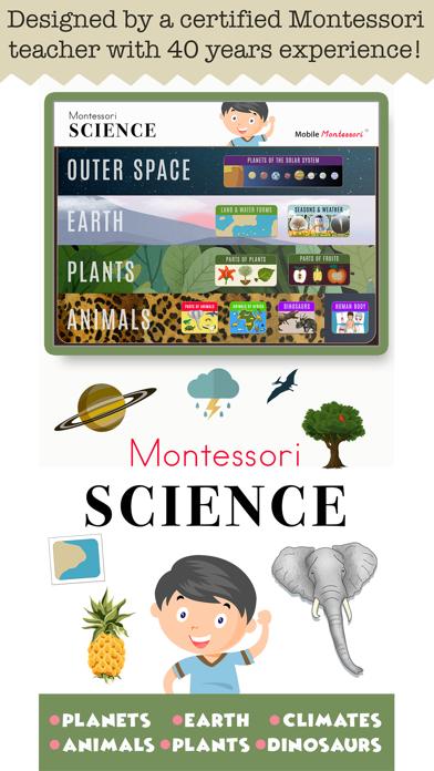 Montessori Science - School Ed screenshot 1