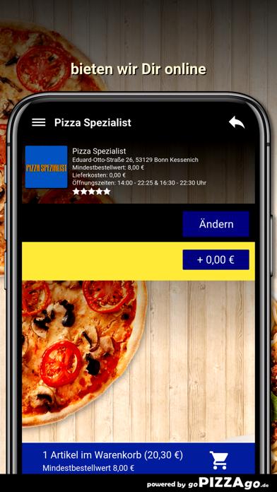 Pizza Spezialist Bonn screenshot 5