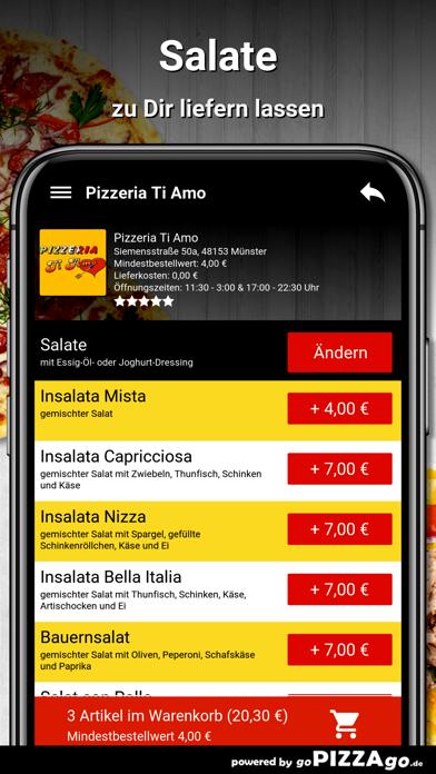 Pizzeria Ti Amo Münster screenshot 5