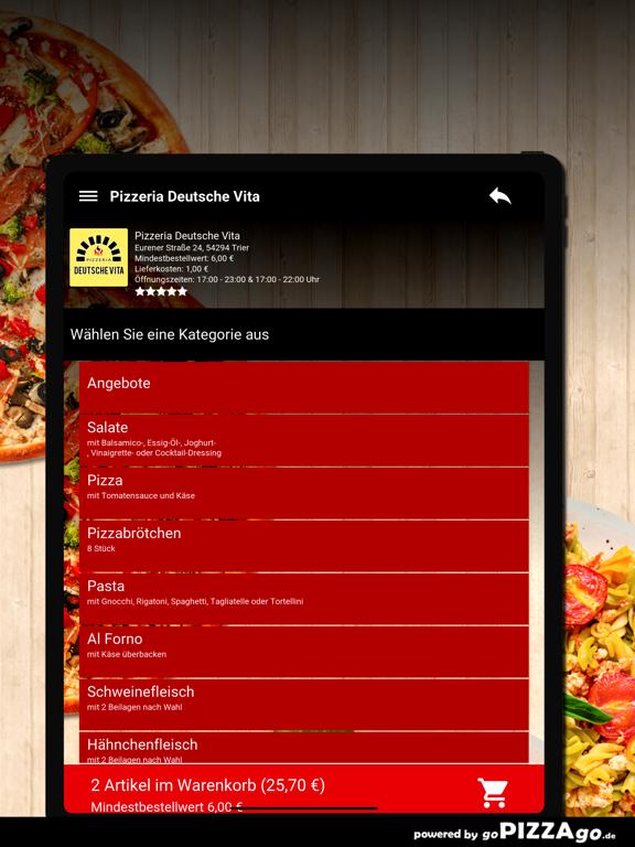 Pizzeria Deutsche Vita Trier screenshot 7