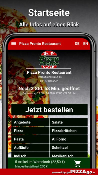 Pizza Pronto Dresden screenshot 2