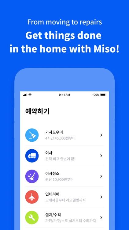Miso - Book home services