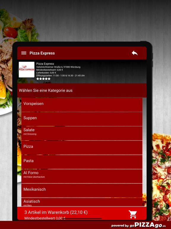 Pizza-Express Würzburg screenshot 8