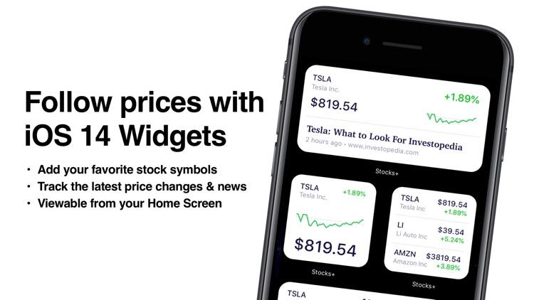 Stocks+ app screenshot-3