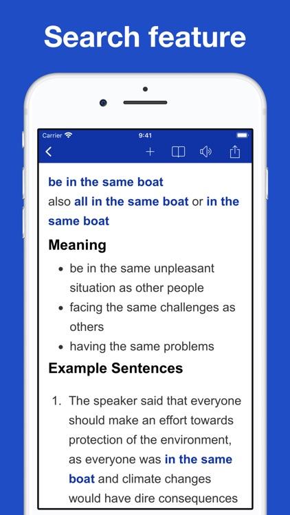 Dictionary of Idiom Origins screenshot-5